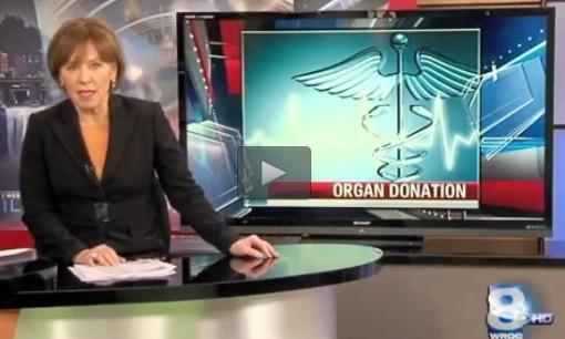 Maureen McGuire WROC-TV Dispelling organ donation misconceptions