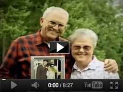 Cornea transplant recipient John - video link