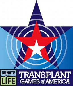Donate Life Transplant Games logo
