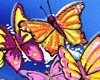 Butterflies on Donate Life Float Rose Parade 2015