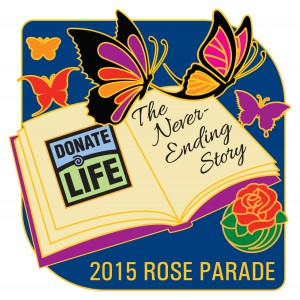 2015 Rose Parade Donate Life Theme