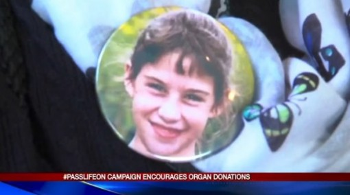 Pass Life On organ donation campaign