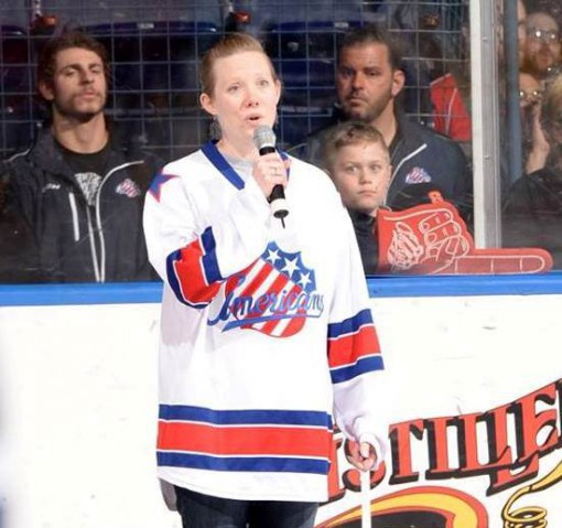 Amerks Holly Campbell