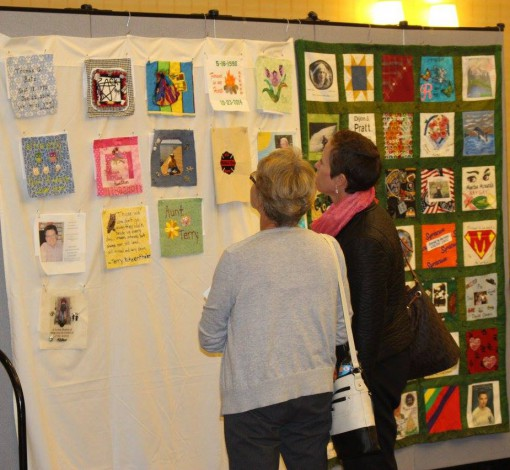 Celebration of Life quilts