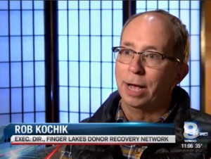 "Rob Kochik WROC Livingston County, NY Nov. 2015, ""Working Together, Working for Life"""