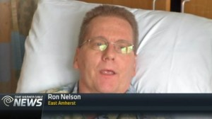 Ron Nelson waiting for a heart transplant