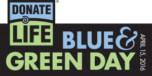 National Donate Life Blue & Green Day