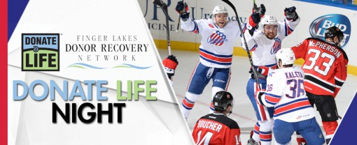 Rochester Americans (Amerks) Donate Life Night