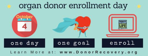 Organ Donor Enrollment Day