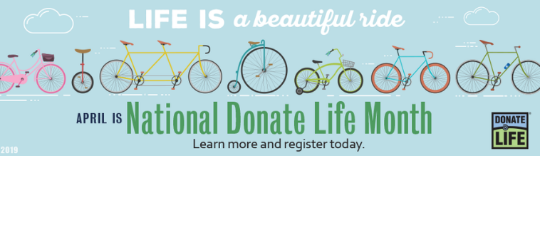 Organ donors give more time for life and laughter.